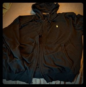 Men's Polo Zip-up hoodie